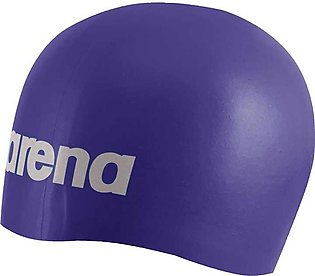 Arena Moulded Silicon Swimming Cap-Purple