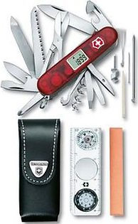 Victorinox Expedition Kit - Red Translucent