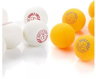 Double Circle Table Tennis Ball (6 Pcs Pack)
