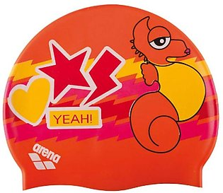 Arena AWT Multi Junior Swimming Cap-Orange