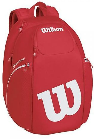 Wilson Pro Staff Backpack-Red & White