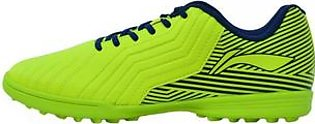 Li Ning Artificial Grass (ID) Football Shoes for Men-Yellow