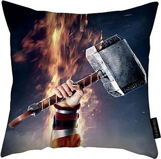 Captain America With Thor Hammer Mjolnir PILLOW
