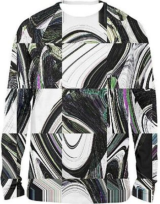 Abstract FULL SLEEVES T-SHIRTS
