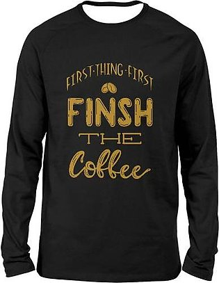 COFFEE FULL SLEEVES T-SHIRTS