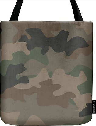 MILITARY CAMOUFLAGE TOTE BAG