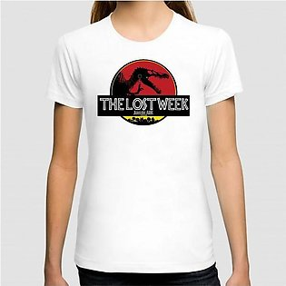 The Lost Week Art Printed Graphic T-shirt