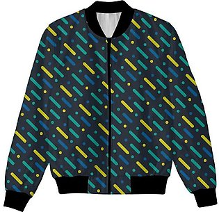 Colorful Abstract Design UNISEX JACKET