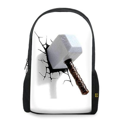 Thor Hammer Crack TShirts Design Art BACKPACK