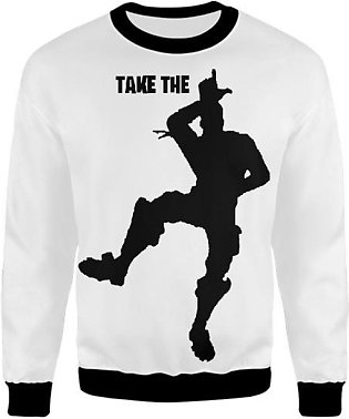 Fortnite Take The L Emote Dance Tshirt And Merch Design In Black UNISEX SWEAT...