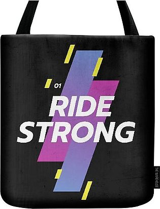 RIDE STRONG TOTE BAG