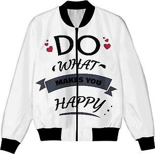 DO WHAT MAKES YOU HAPPY UNISEX JACKET
