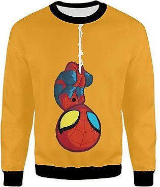 Spiderman Far From Home Chibbi Design For Kids Boys And Girls UNISEX SWEATSHIRT