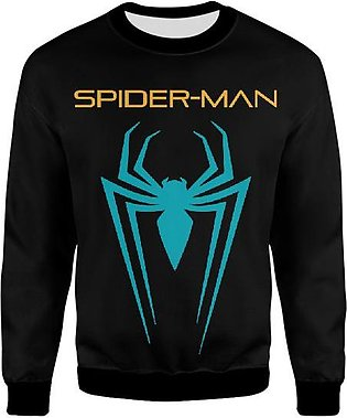 Spiderman Far From Home In Teal Neon Design With Black And Golden Touch UNISE...