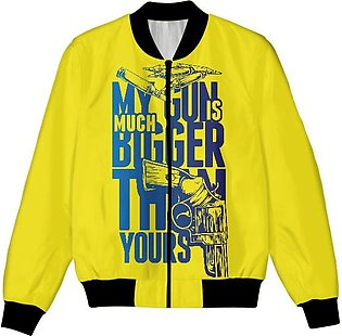 My Gun Is Bigger Than Yours UNISEX JACKET