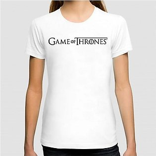 Game Of Thrones Art Graphic Printed Woman T-shirt