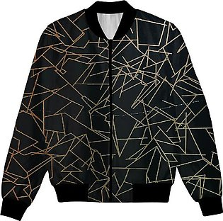 Modern Times Abstract Art, Design, Geometric Pattern UNISEX JACKET