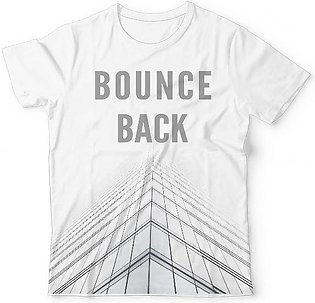Bounce Back Cool White T-Shirts UNISEX ALL-OVER PRINT T-SHIRT