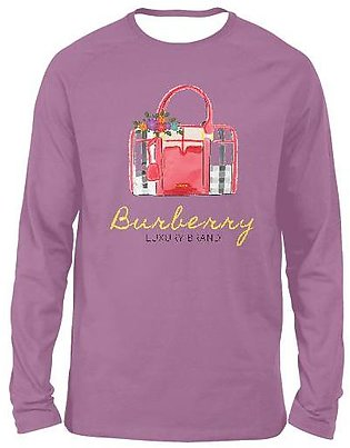 Burberry FULL SLEEVES T-SHIRTS