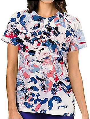 Flower Painting All Over Printed T-shirt