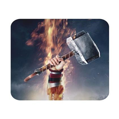 Captain America With Thor Hammer Mjolnir MOUSE PAD