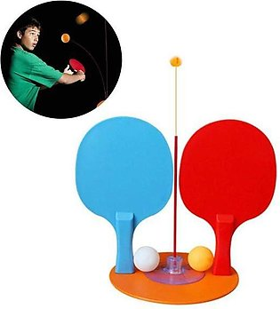 Portable Table Tennis Set with 2 Racket