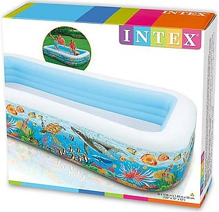 Intex Family Swimming Inflatable Pool (MULTI COLOUR)