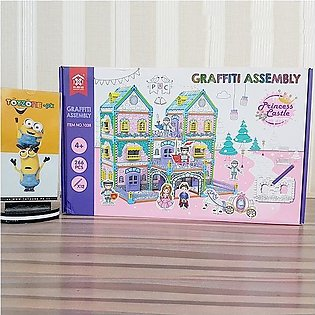 DIY Graffiti Assembly- Princess Castle