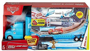 Disney Pixar Car | Drop & Jump Gray Playset