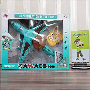 3D Light RC Airplane Awacs 2000