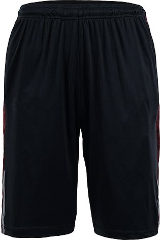 Crimson And Black Gym Shorts
