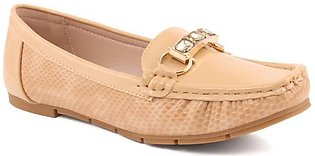 """Women """"HEDY"""" Glossy Comfort Moccasins"""