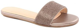 "Women ""Zoe"" Sophisticated Glittering Slippers"