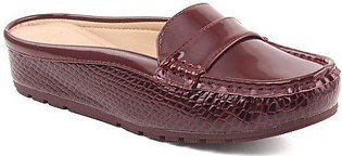 "Women ""LENOR"" Glossy Wedge Moccasins"