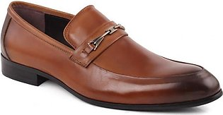 "Mens ""RYAN"" Two Tone Leather Slip On Shoes"