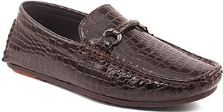 """Boys """"ETHAN"""" Square Toe Patent Moccasins"""
