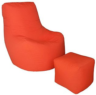Alaska Bean Bag - Orange
