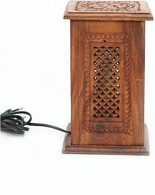 Small Wooden Lamp