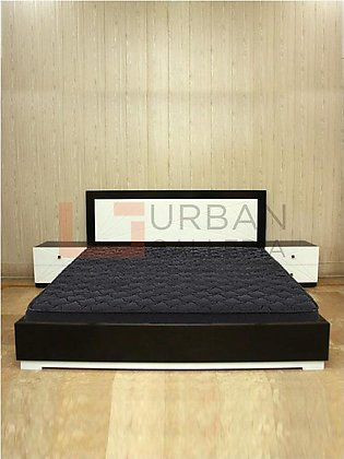 Policia Double Bed with Side Tables
