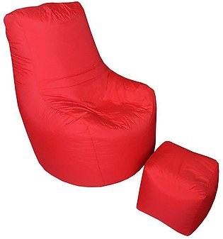 Leo Bean Bag - Red