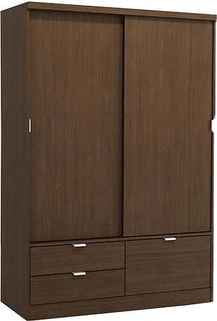Farnell 2 Door Sliding Wardrobe with 2 Drawers