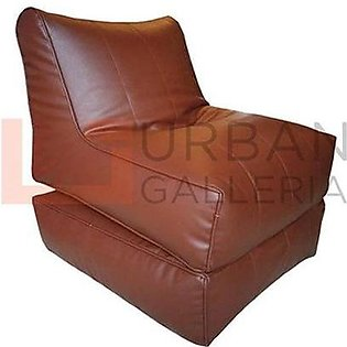Leatherite Sofa cum bed bean bag