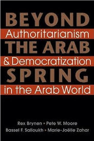 Beyond the Arab Spring by Rex Brynen,  Pete W. Moore, Bassel F. Salloukh & M
