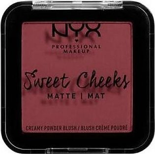 NYX Sweet Cheeks Creamy Powder Matte Blush