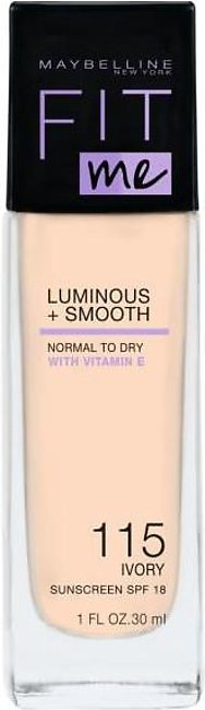 Maybelline Fit Me Luminous + Smooth Foundation