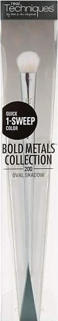 Real Techniques Bold Metals Collection 200 Oval Shadow