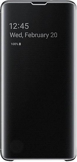 Samsung Galaxy S10 Clear View Cover- Black
