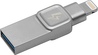 Kingston DataTraveler Bolt Duo USB 3.0 Lightning Flash Drive – 64GB