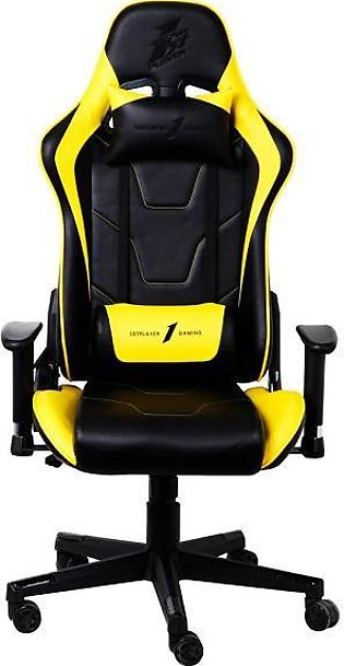 1stPlayer FK2 Gaming Chair – Yellow