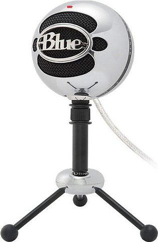 Blue Snowball USB Microphone – Brushed Aluminum